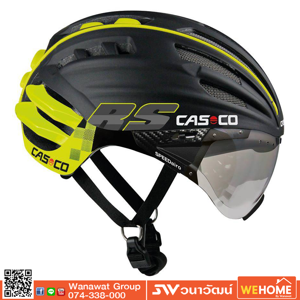 CASCO Speed AiroRS Black/Yellow